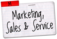 Marketing Sales and Service